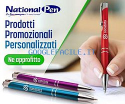 National Pen: gadget per aziende