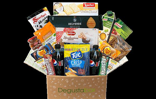Degustabox | Pacco sorpresa a casa tua