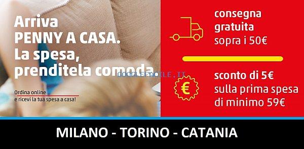 Penny Market S.r.l.   La spesa a casa tua (Milano, Torino e Catania)